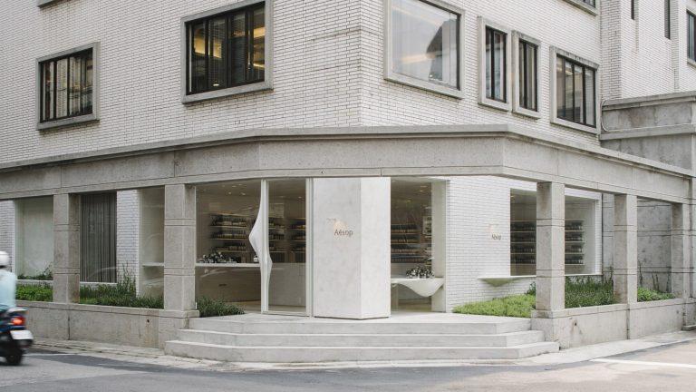 [台北室內設計] Aesop大安分店-體現大安區的設計空間