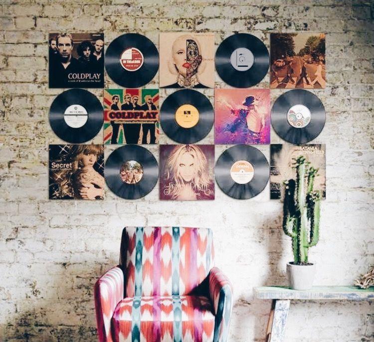 12種牆面裝飾物件:唱片