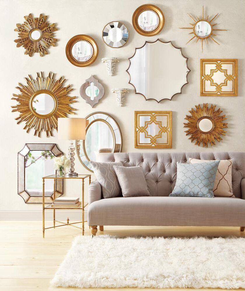 12種牆面裝飾物件:鏡子