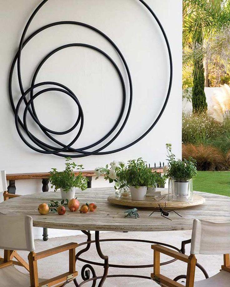 12種牆面裝飾物件:圓箍