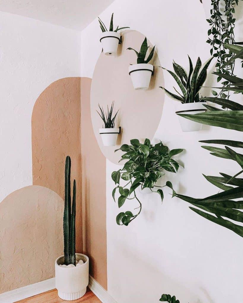 12種牆面裝飾物件:盆栽