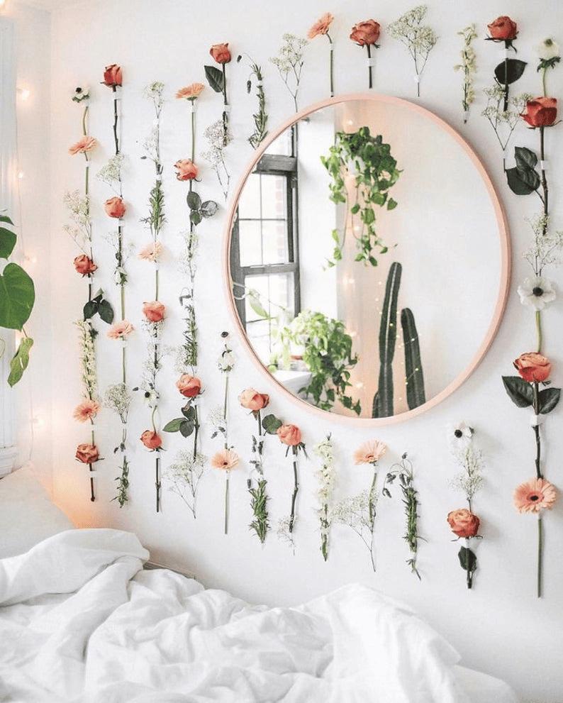 12種牆面裝飾物件:仿花