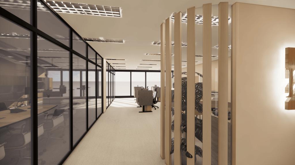 台北大直商辦空間室內設計
