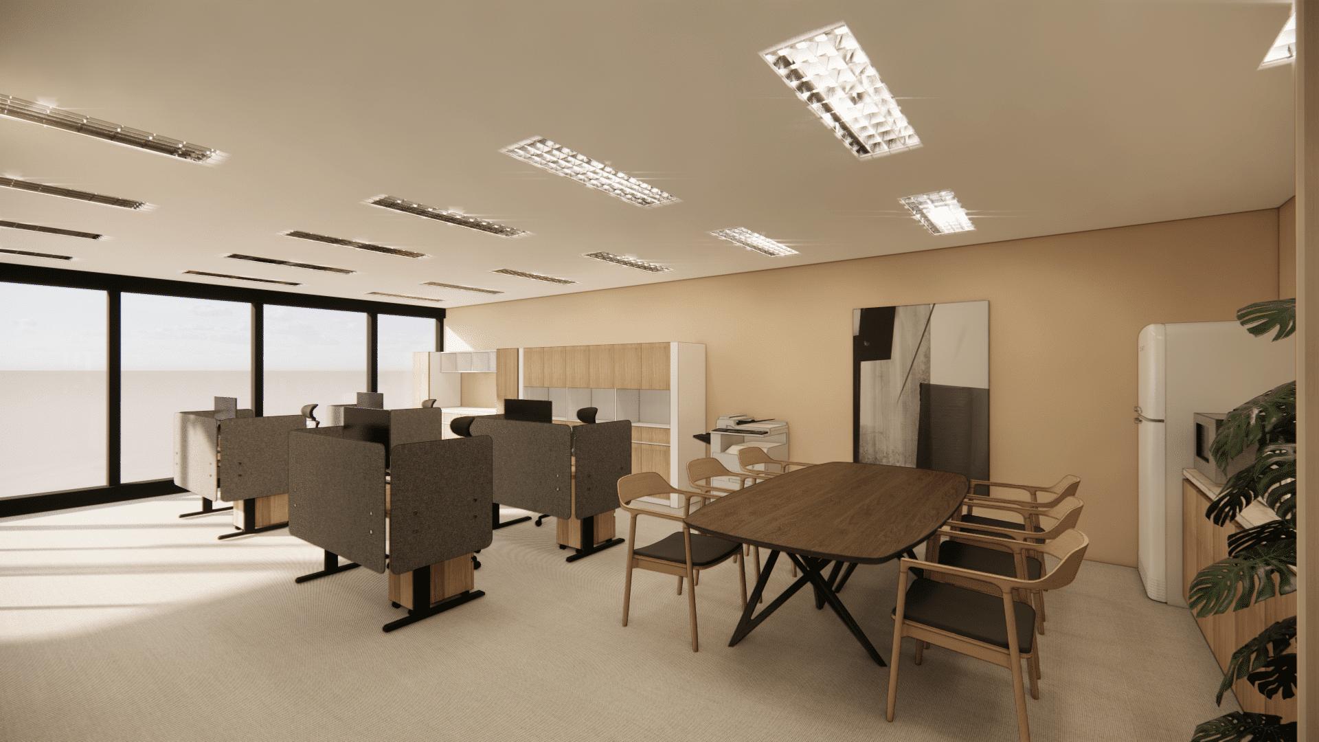 台北商辦空間室內設計 – 拾間室內設計案例
