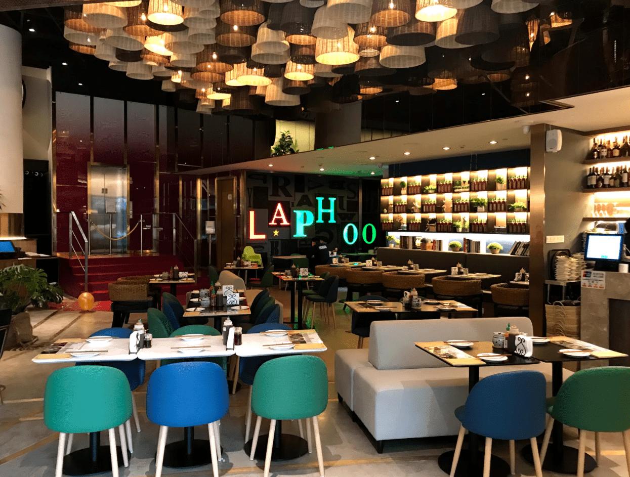 越南美食餐廳裝潢,300個竹簍設計而成的作品LA PHO【拾間室內設計】- 商空作品集分享