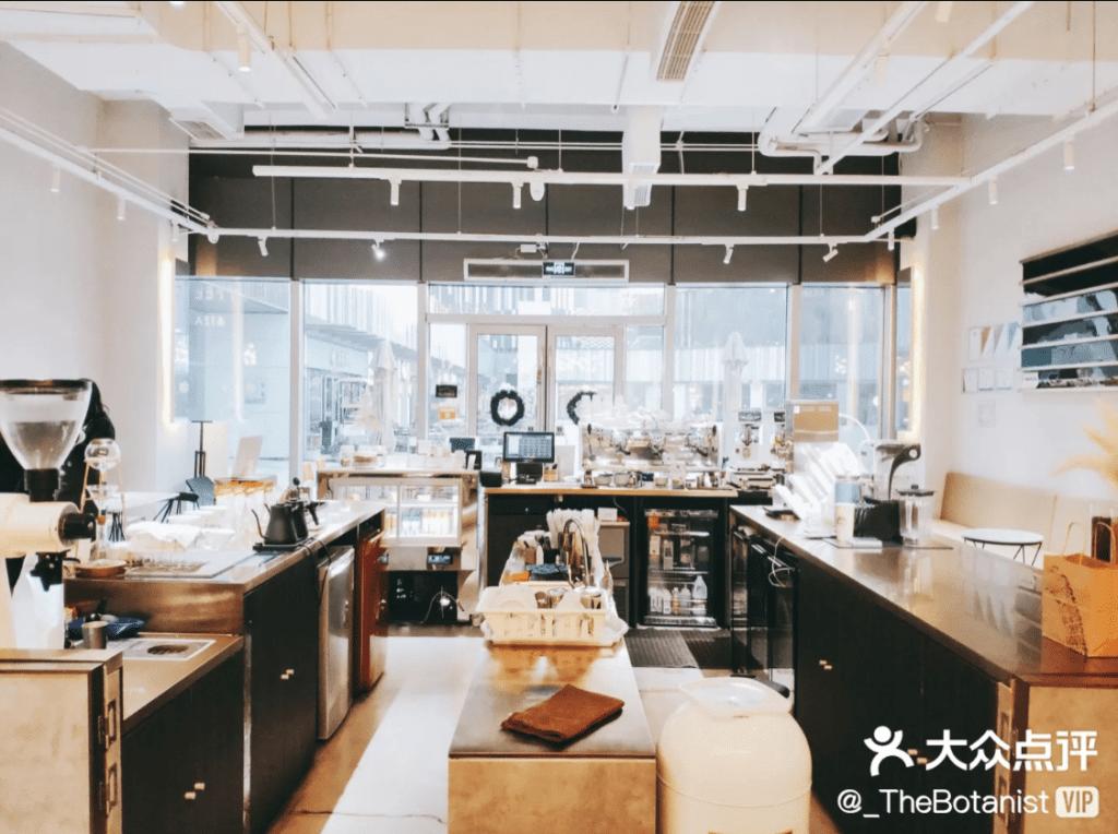 吧台區可以觀看手沖咖啡,咖啡廳裝潢的小巧思